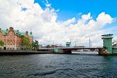Copenhagen bridge. — Stock Photo