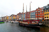 Old center of of Copenhagen. — Stock Photo