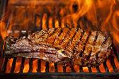 Stek z polędwicy wołowej góry — Zdjęcie stockowe