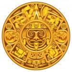 Mayan calendar — Stock Vector