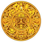 Maya takvimi — Stok Vektör