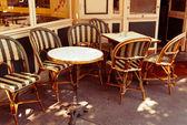 Terraza de café — Foto de Stock
