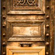Wooden door grunge — Stock Photo