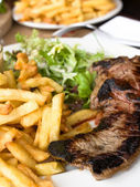 Juicy steak beef meat — Стоковое фото