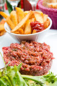Raw beef — Stock Photo