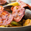 Traditionnal spanish food paella — Stock Photo #11453669