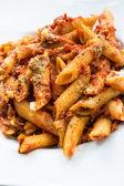Italian meat sauce pasta — Stock Photo