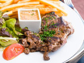 Rindfleisch steak — Stockfoto