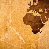 Aged Europe map vintage — Stockfoto