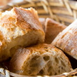 Постер, плакат: Bread in basket