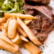 Juicy steak — Stockfoto
