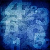 Retro style numbers — Stock Photo