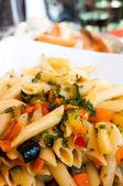 Bord pasta — Stockfoto