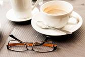 ホット コーヒーのカップ — ストック写真
