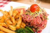 Raw beef — Stock fotografie