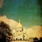 The Sacre-Coeur church — Stock Photo
