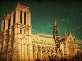 Prachtig uitzicht notre dame kathedraal — Stockfoto