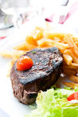 Juicy steak beef — Foto Stock