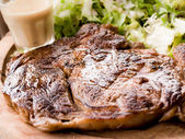 Grilled steak — Stock fotografie