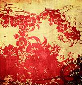 中国风格纹理和背景 — 图库照片