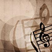 Grunge melody — Stock Photo