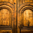 Wooden door - Stockfoto