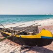 Fishing canoes — Stock Photo