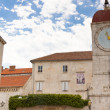 Clock tower - Trogir, Croatia. — Stock Photo