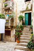 Trogir - courtyard. — Stockfoto