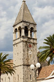 View on bell tower - Trogir — Stock Photo