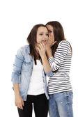 Gossip whispering — Φωτογραφία Αρχείου
