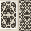 Stock Photo: Seamless Pattern-monochrome 2
