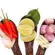 Stock Photo: Spicy Thai food ingredients