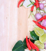 Spicy Thai food ingredients — Foto Stock