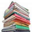 Stack of folders — Stock Photo #10788217