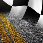 Racing background — Stock Photo