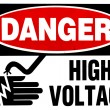 High voltage sign — Stock Photo #11781395