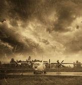 Aviones viejos — Foto de Stock