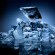 Block of ice. — Stockfoto