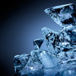 Block of ice. - Stock Photo