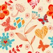 Seamless floral background — Stock Vector #11061340