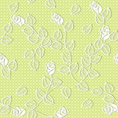 Lacy flower background — Stock Vector
