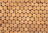 Wine cork background — Stock Photo