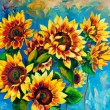 Sunflowers — Stock Photo #12388296