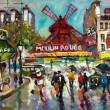 Moulin Rouge - Stock Photo