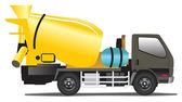 Concrete mixer — Stock Vector