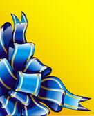 Kokarda niebieski — Wektor stockowy