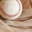 Ball and glove — Stock Photo #11025134