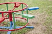 Houpat se v parku — Stock fotografie