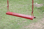 Swing for child playing — Stock Photo